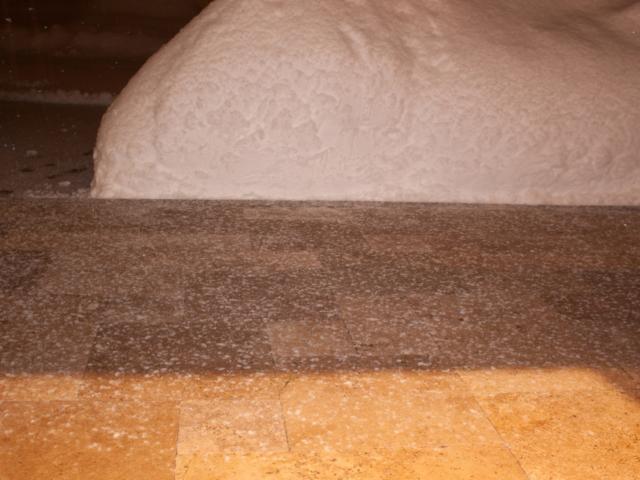 Frostbeständiger Travertin Walnut Noce Fine Line Außenbereich