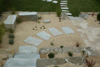 Muschelkalk Stufen Quader Polygonalplatten Terrassenplatten Travertin Walnut Noce Fine Line