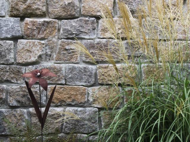 Muschelkalk Mauersteine