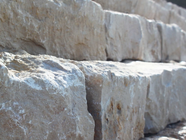 Mauersteine Jura Marmor